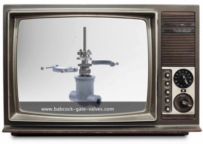infografía gate valve