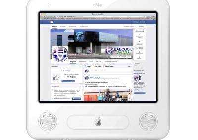 Facebook para Babcock Valves