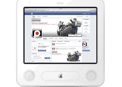 Facebook para Prosertek