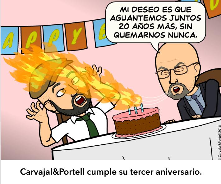 Carvajal & Portell cumple 3 años