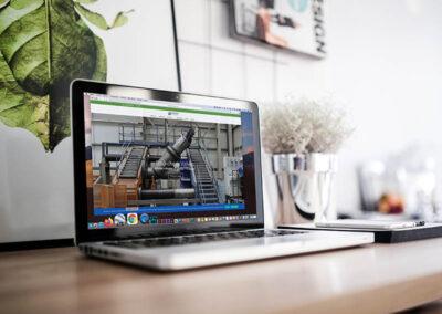 Babcock Valves: diseño web